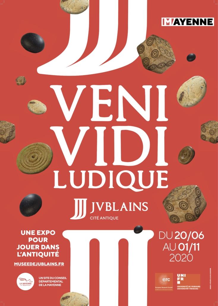 Exhibition - VENI, VIDI, ludique. Une expo pour jouer dans l'Antiquité @ Musée archéologique départemental de Jublains